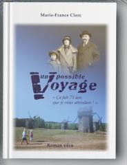 Couverture du roman Impossible voyage de Marie-France Clerc
